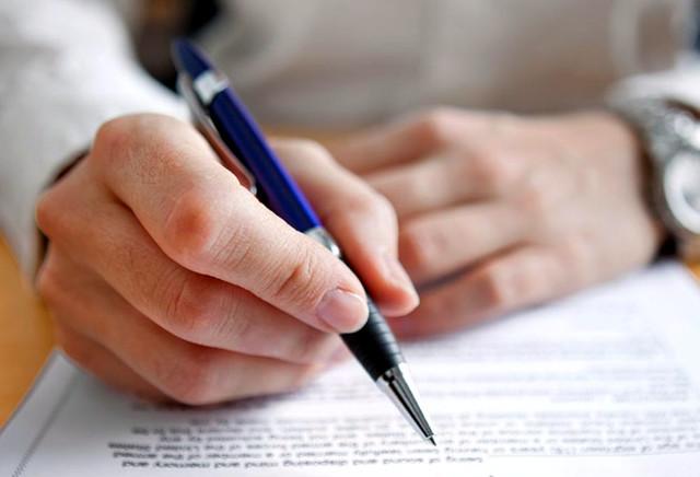 Удостоверение времени предъявления документов у нотариуса